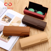 Hand glasses box men and women sunglasses sunglasses box small fresh box of South Korean students female simple eye box