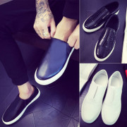Lazy spring shoes loafer shoes all-match Doug shoes pedal 2017 summer new trend of Korean