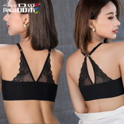 Product color pure spring back all-match ladies bra backless sexy ladies bra comfort breathable vest primer