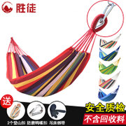 Outdoor hammocks, single double heavy canvas camp, student dormitory, dormitory swing chair, swing indoor hanging chair