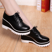 Spring shoes shoes shoes merchandiser Po shoes high-heeled shoes casual shoes children muffin bottom British wind in spring and Autumn