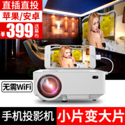 Light meter apple Android mobile phone projector projector screen TV free home high-definition home theater