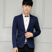 Young people in the United States, Germany, a small set of men's casual suit small suit youth single suit jacket jacket