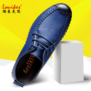 Luik Faith British style shoes soft bottom shoes male leather shoes breathable hand Men's business casual shoes