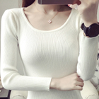 Women's Korean version of the short-sleeved women's long-sleeved shirt sweater