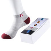 Men's socks socks summer low short tube thin section four sports socks male sweat absorbent breathable cotton socks deodorant