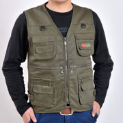 Every spring and autumn special offer outdoor Pocket Vest photographer fishing vest vest for men