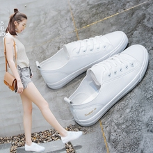 Han Fan children's white shoes female spring and summer 2018 new wild Korean version of the breathable flat floor shoes based chic white shoes