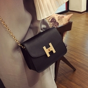 The 2016 summer new handbag small package mini bag chain package Shoulder Satchel diagonal small bag