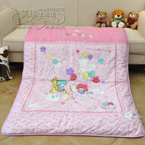 Cotton childrens air conditioning is cool in the summer and two-piece infant son-mother was the core of kindergarten thick warm winter quilt