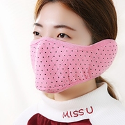 Lovely winter riding earmuff and dust wind warm air respirator in Korean fashion