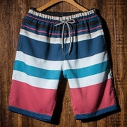 Men's summer beach pants dry couple casual shorts five size slacks seaside resort, swimming trunks