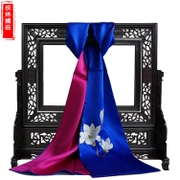 Embroidery silk scarves silk scarf long purely handmade embroidery silk embroidery, Suzhou features gift products