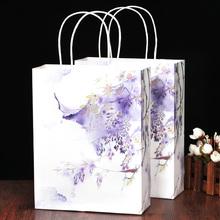 【 среда 】 глициния древность творческий подарок ридикюль сын китайский ветер ретро звезда упаковка мешок классическая ручная роспись мешок