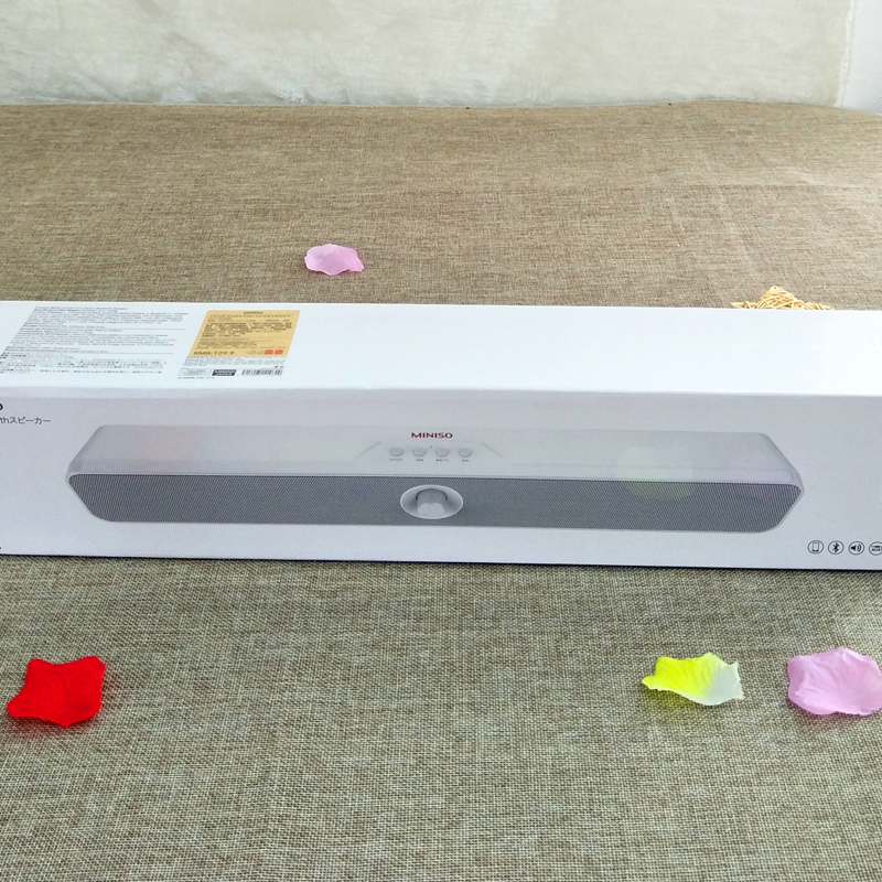 [USD 37.56] Japan MINISO Name Product Excellence Authentic Home Theater Dual Speaker Stereo