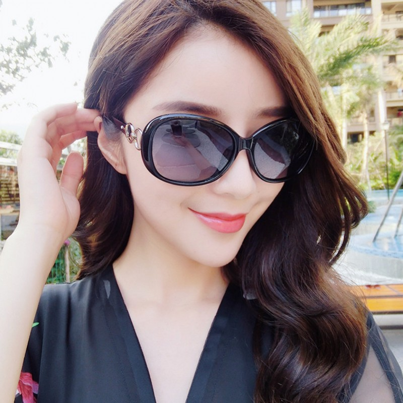 Usd 2018 New Style Sunglasses Women 39 S Fashion Trend Retro Round Face Long Face White