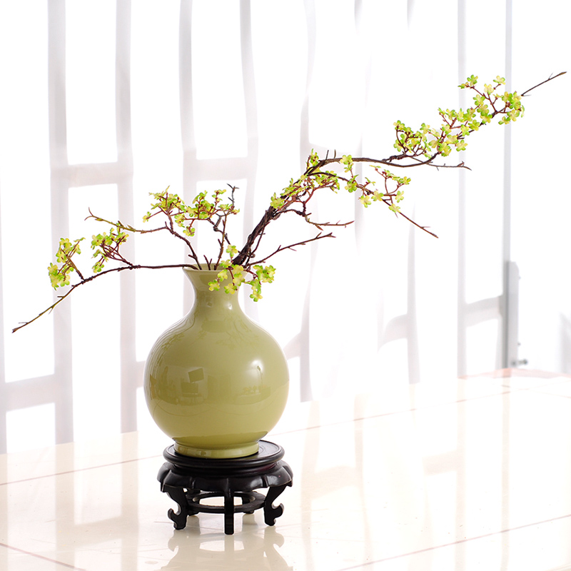 Usd new chinese style flower vase floral art for Artificial flower vase decoration ideas