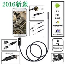 5.5MM Android Endoscope Waterproof Snake Inspection Camera