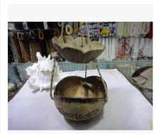 Хайнань кокосовые волокна аксессуары корзина цветочный горшок корзины больше мясо завод комнатные корзина