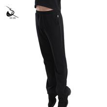 Кипарис дом танец сад новый гимнастика фитнес брюки мужской танец обучение брюки практика гонг брюки черного хлопок