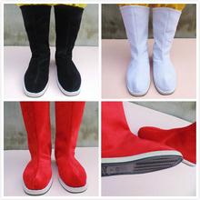 Древний наряд ботинки производительность из противоскользящее древность cos китайский одежда играть песня мужской и женщины китайский стиль свадебная обувь древний поколение офицер солдаты ткань ботинок