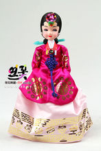 Царство хань одежда кукла / корея ремесла качели установить статья / дворец одиночный разряд даже / царство хань одежда кукла /25cm высокий /H-P01579