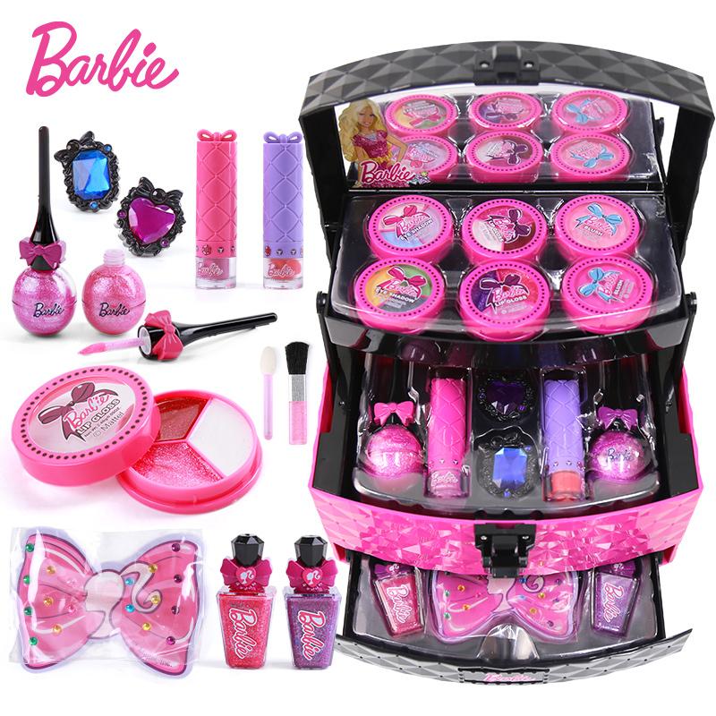Girl Toys 9 10 : Usd child cosmetics princess makeup box toy