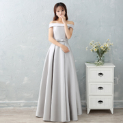 Our sisters dress dress long sling new Bridesmaid Wedding dinner will be customized to increase