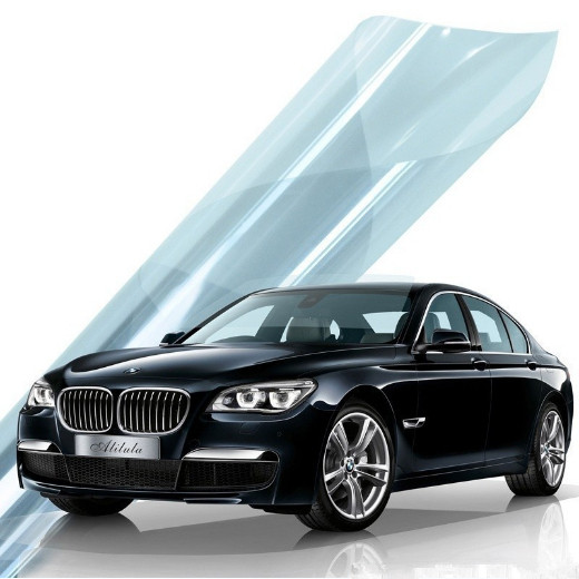 Reflective Vehicle Film Full Vehicle Film Black Heat Insulation and Explosion Proof Film for Car Window Sunscreen Glass Front Shield