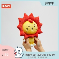 Official version of LINE FRIENDS ROY6 Laiyang dude Plush bag hanging doll Wang Yuan of the same style