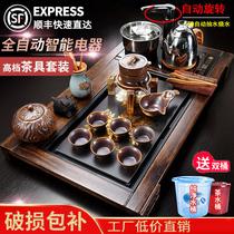 Полностью автоматический все-в-одном чайный набор чайный зал набор teacourse офис гостей дома гостиной набор чайной церемонии чайная тарелка набор