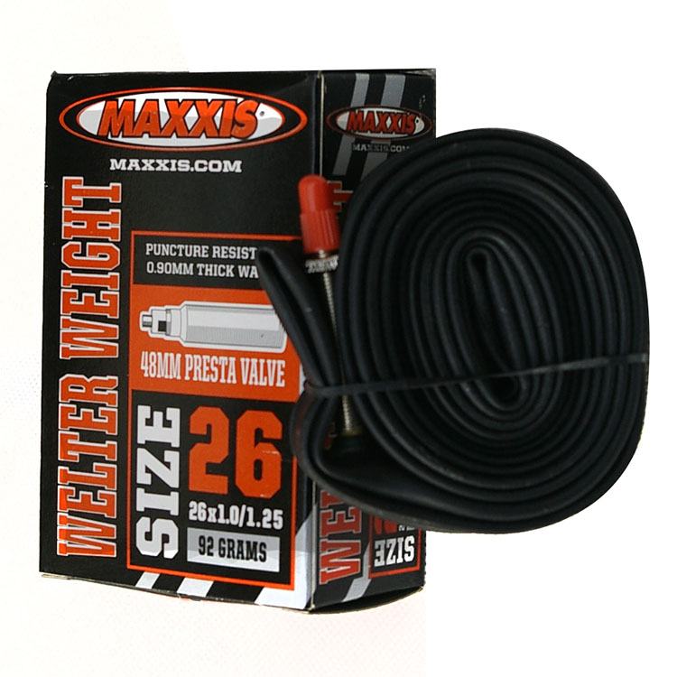 MAXXIS Magis 26-inch mountain bike inner tube 26X1.0/1.25 bicycle inner tube mouth 48MM 87g