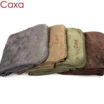 CAXA Men's Scarf, Double-sided Furry, Grasping Neck, Outdoor Sports, Skiing, Hiking, Climbing, Warming and Weaving