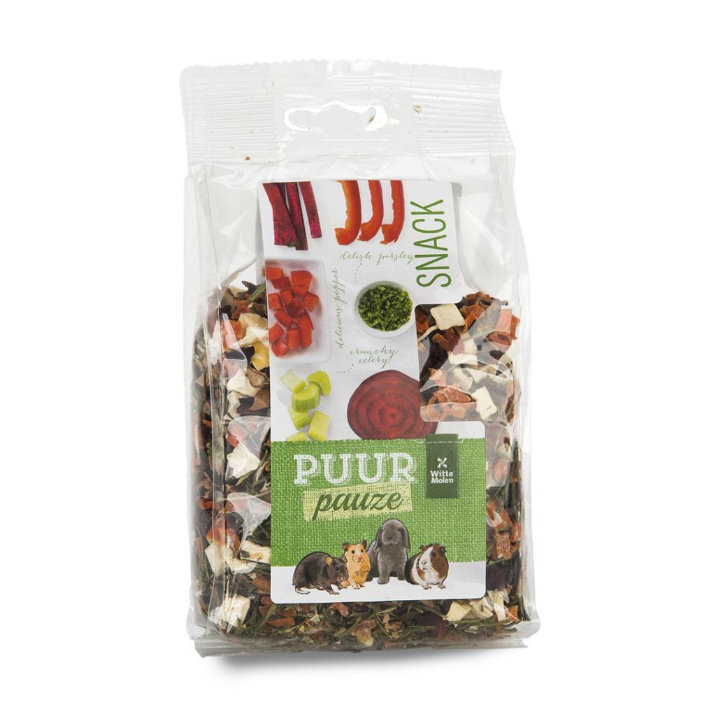 Голландский Witte Molenwit волшебное колесо фрукты и овощи пакет кролика корма голландский свинья дракон кошка хомяк закуски 100g