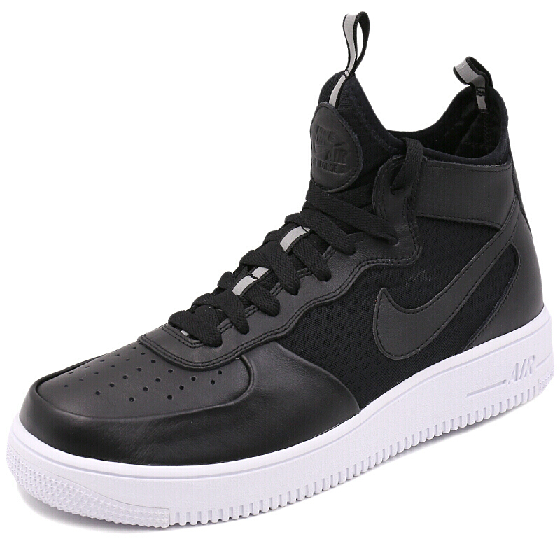 Shooter invincible genuine Nike Nike AIR FORCE 1 Men's Air Force 1 Hi-top shoes 864014-001