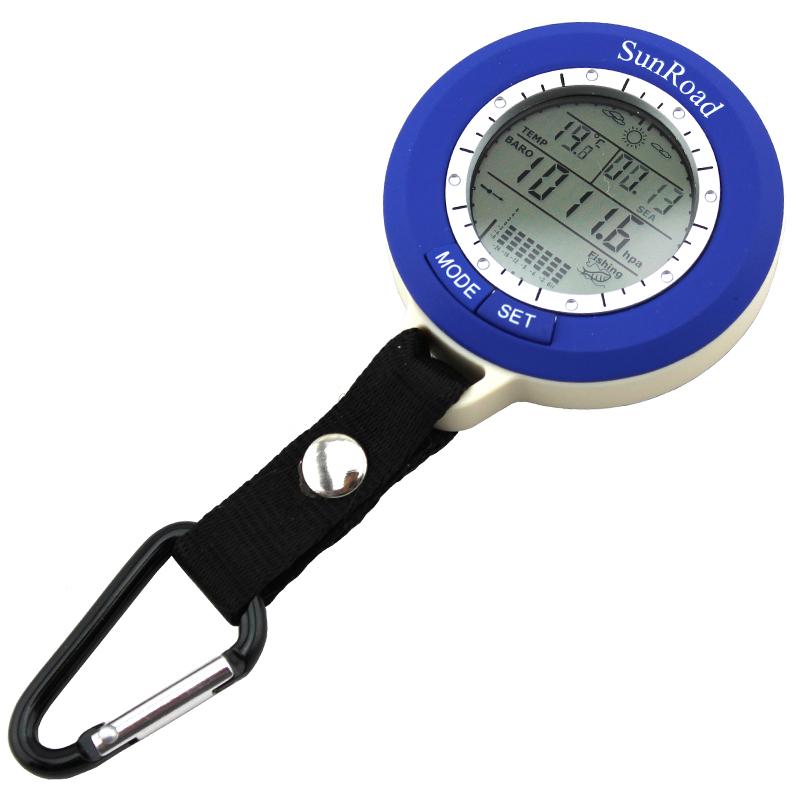 SUNROAD multi-function electronic fishing barometer (SR204) thermometer elevation table fishing barometer
