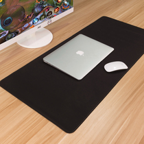 Pure Mouse Cushion Super Large, Small and Medium Size Office Customization of Thickened Black Simple Writing Cushion Computer Table Cushion