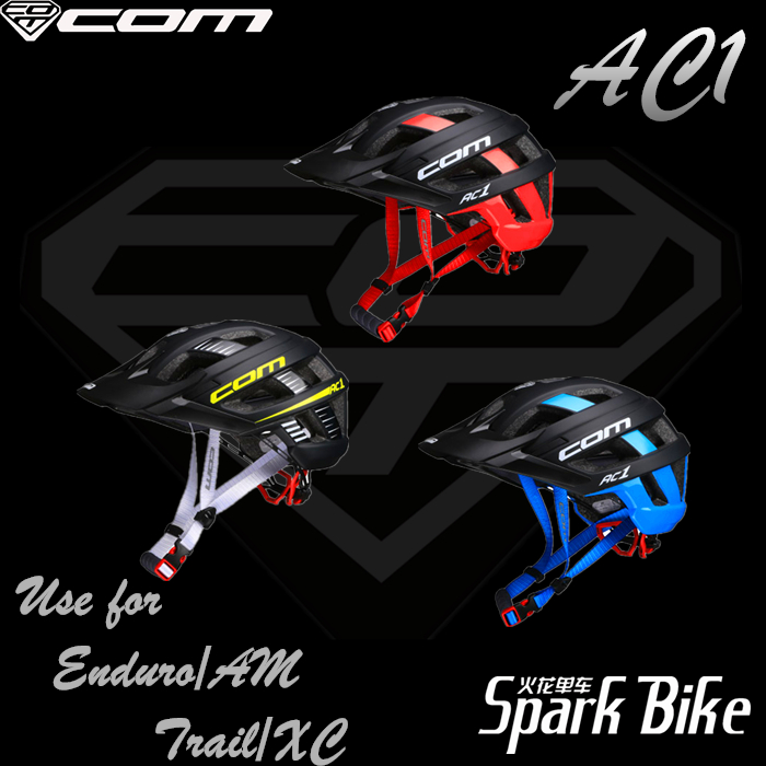 COM AC1 Bike Helmet XC AM Enduro High-Intensity MTB Helmet/Half Helmet Non-661