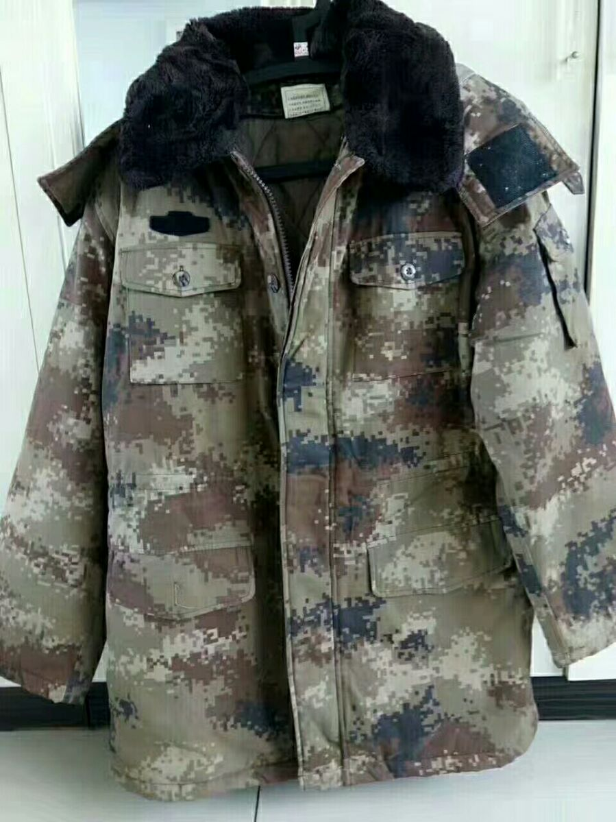 Desert Coat Second-hand Desert Camouflage Coat Training Coat Cold-proof and Warm-keeping Type Hand in Old Coat