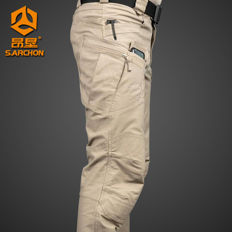 Spring and autumn IX7 tactical pants mens slim 9 special forces army pants outdoor training pants loose workwear trousers summer