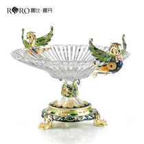 Robbie Rodin home decoration enamel 瑯 creative home fruit plate fruit plate ornaments
