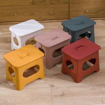 Пластиковый складной стул простой стул взрослый домашний поезд маца складная небольшая скамейка на открытом воздухе портативный рыболовный стул