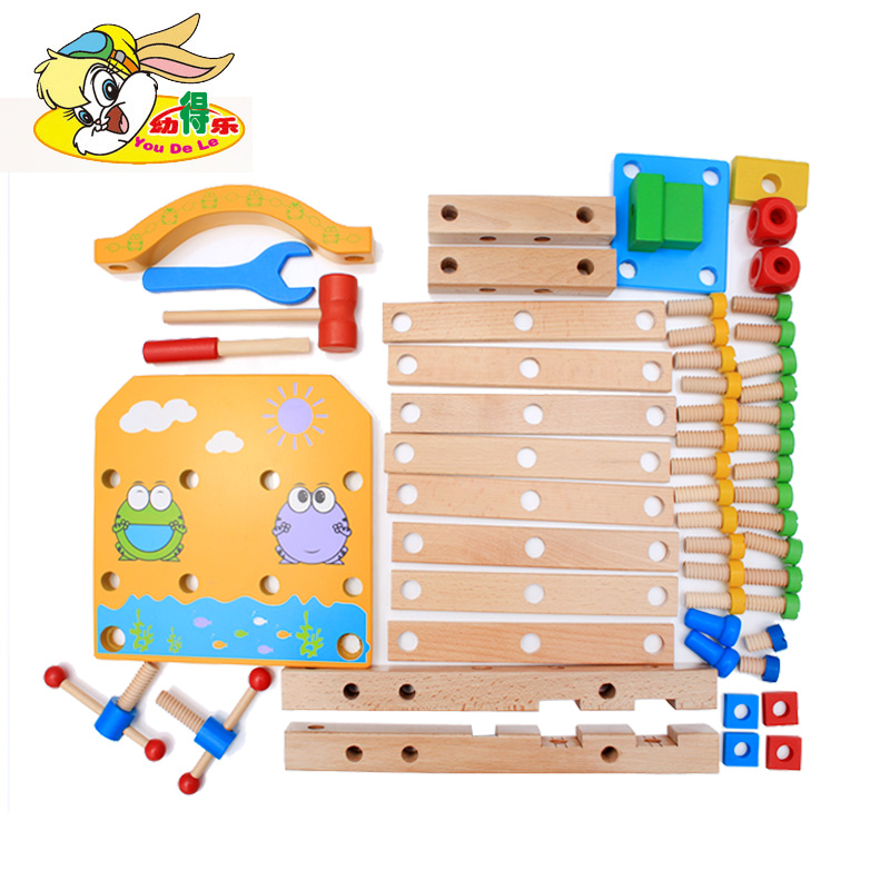 Girls and boys 0-3-5-6 years old children's puzzle toys gifts