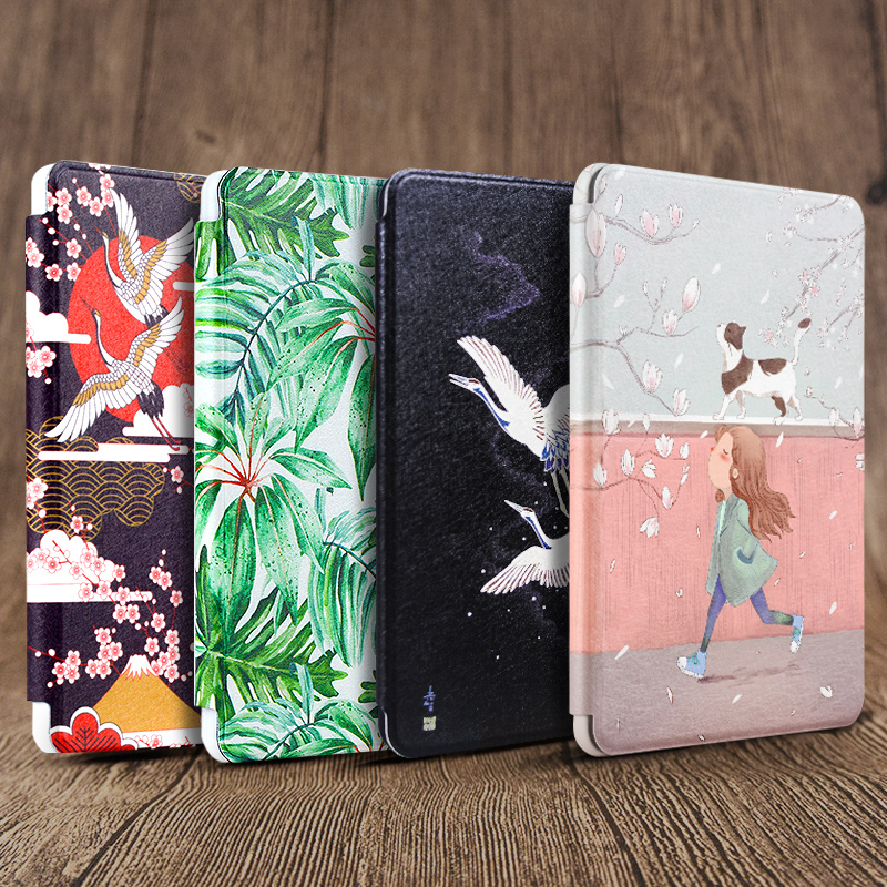 Kindle Shell Paperwhite 4/3/2 Soft Shell Kpw43 Classic Kindle 958 Shell 998 Amazon E-book 899 Van Gogh New K4 Shell PQ94WIF Shell
