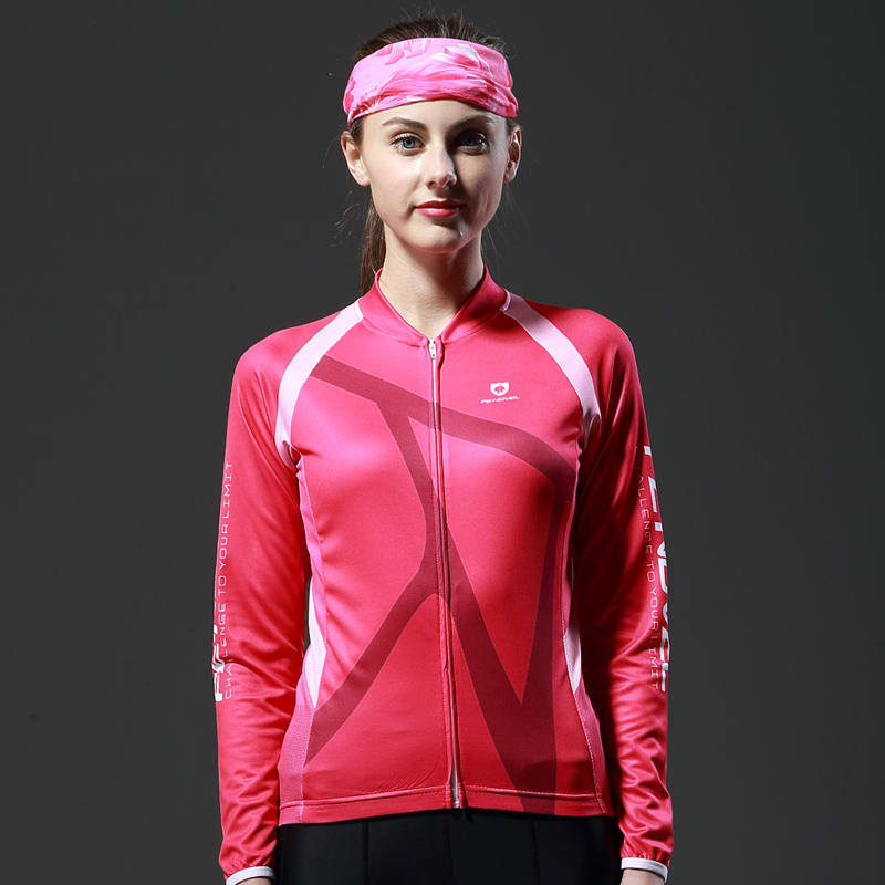 FE-NOVEL Summer Long-sleeved Cycling Suit Mountain Highway Bicycle Cycling Suit Women's Leisure Cycling Suit in Autumn and Winter