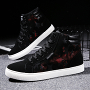 The winter men help Korean canvas shoes men's casual shoes men with all-match trend of cotton shoes shoes