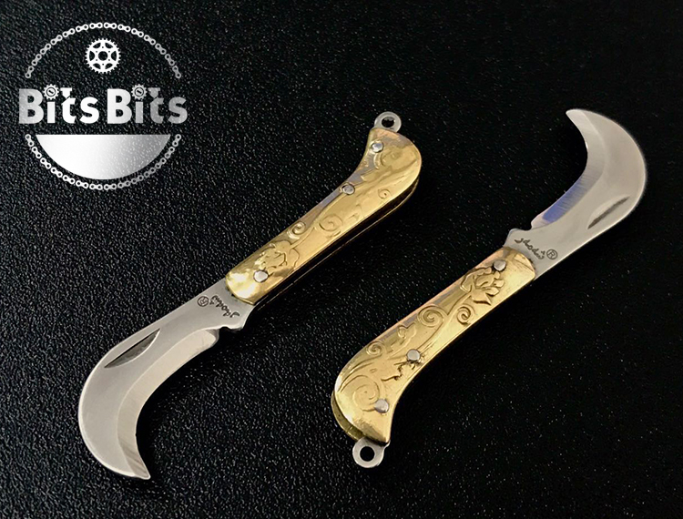 BitsBits Ultra Mini Knife 2.8 MT Folding Knife Brass Knife Knife Knife With You Can Go Through Security