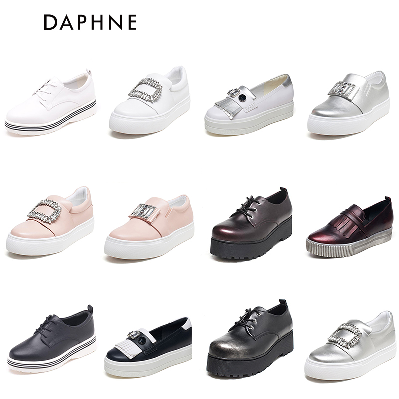 Daphne / Daphne women's shoes spring and autumn low heels single shoes round head casual shoes fashion sports series single shoes women