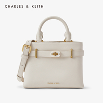 CHARLES-KEITH Kelly Chuanbei mother bag CK2-30781195 ladies locks decorated tote one-shoulder bag