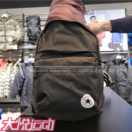 Genuine Converse backpack new men and women casual student bag 10003335-A01/A02/A03/A09
